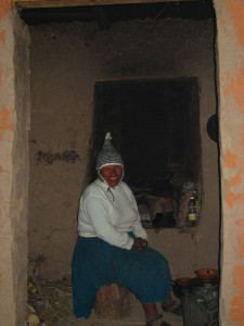 Lake Titicaca Homestay, lady