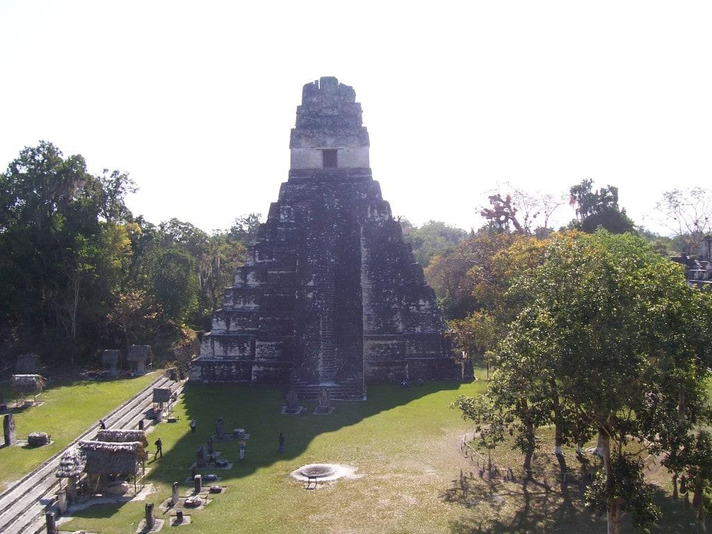 Tikal Ruins, Guatemala, Central America, pyramid