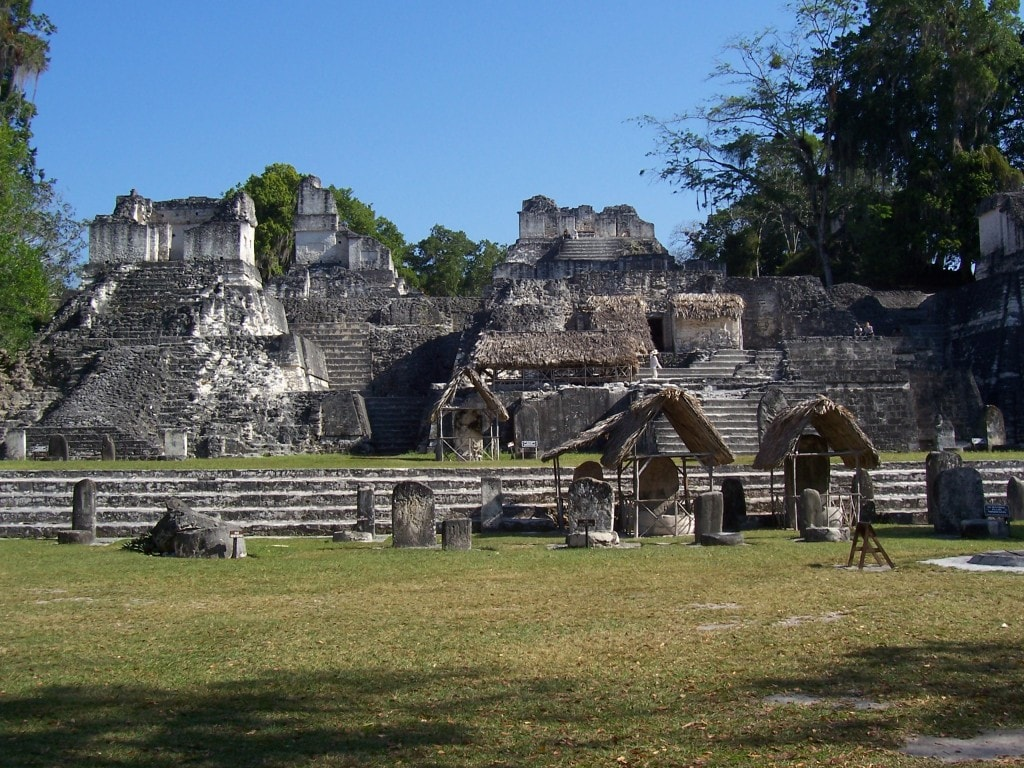 Tikal Ruins, Guatemala, Central America, temples