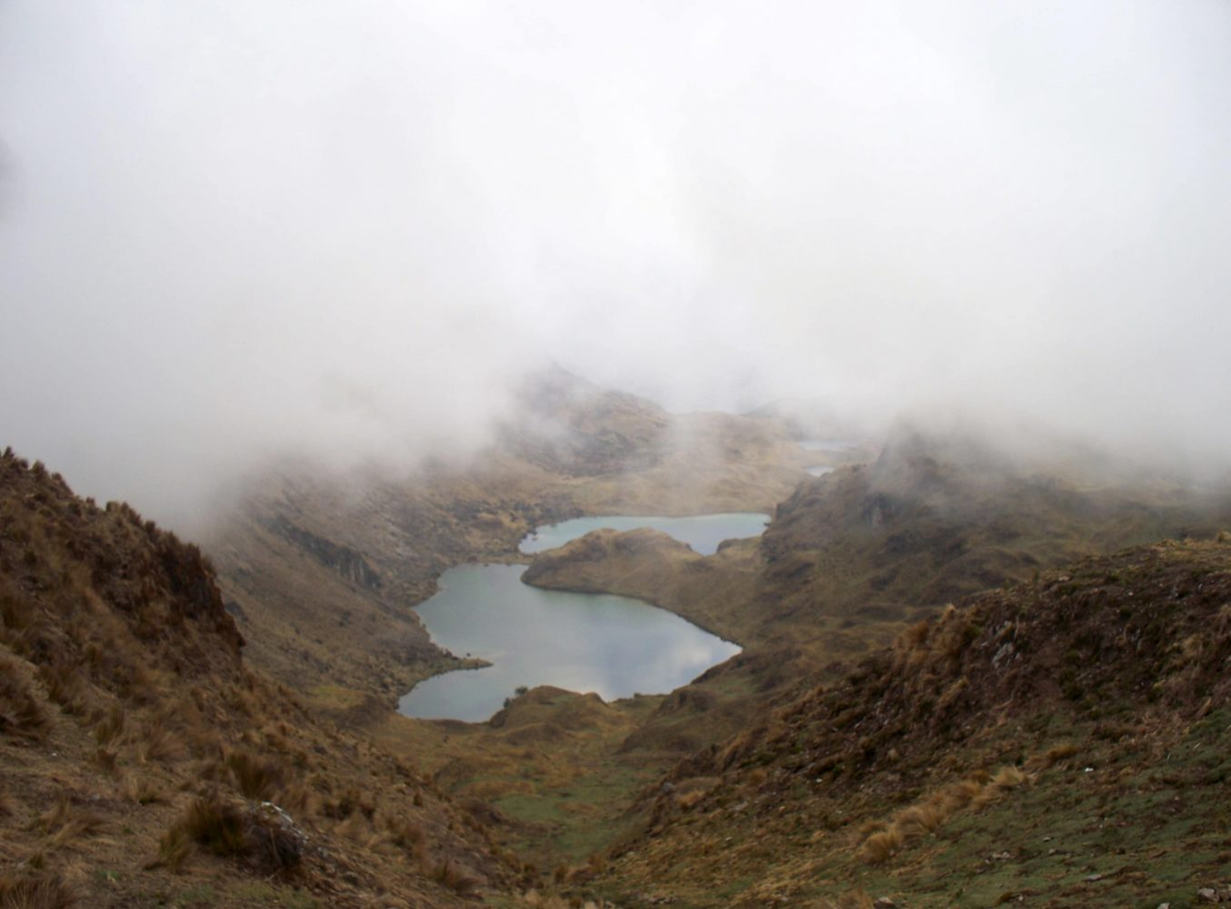 the lares trek to machu picchu a photo essay brendan s adventures from the top of the first pass you look down on a spectacular site a