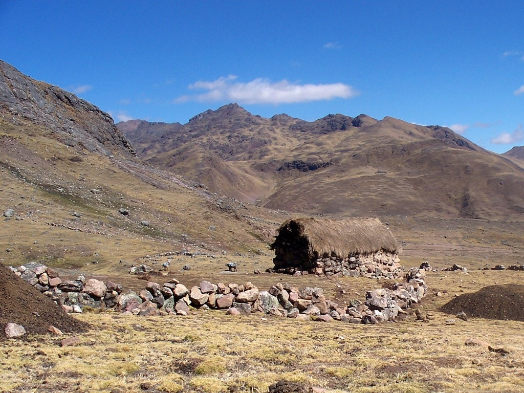 A sheep/llama herder makes his home in this spot.  For some it is unbelievable that one could live so far from any sort of town, city, or even road.  For me, I was a little bit envious of the simplicity of his life.
