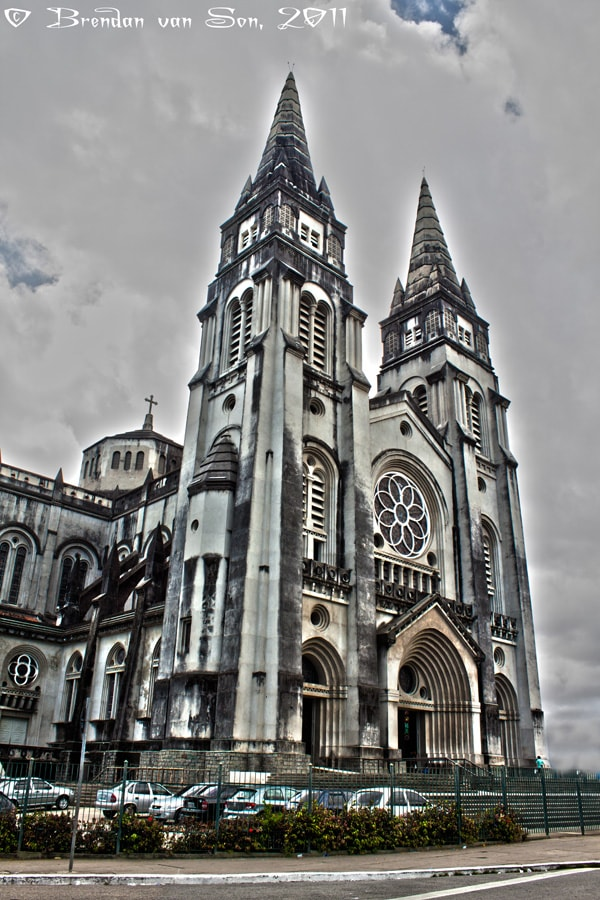 HDR, Fortaleza Church, brazil