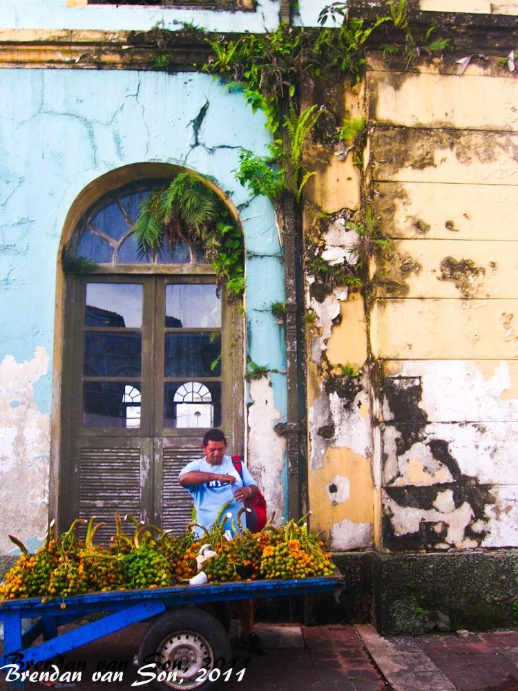 Man selling fruit