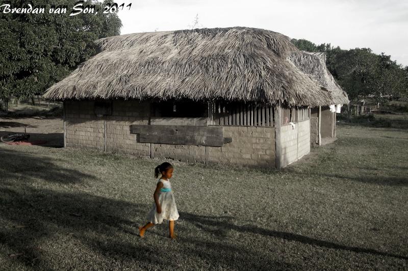 A girl in Annai, Guyana