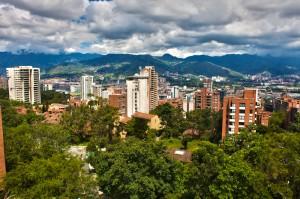 Medellin, Colombia, view