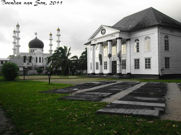 Paramaribo Mosque and Synogogue