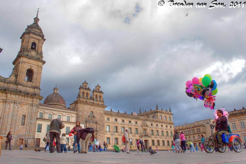 Bogota Balloons HDR