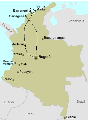 Costal Colombia