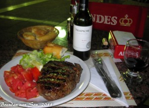 Argentinean Steak Dinner