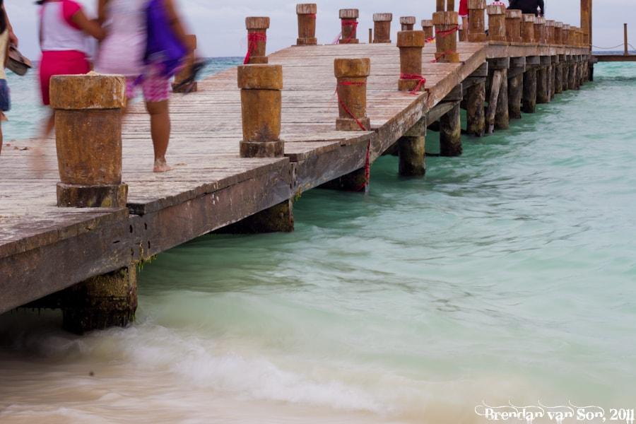 Playa del Carmen, mexico, Pier