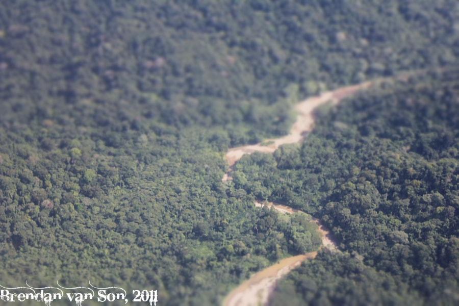 A River in the Darien Jungle