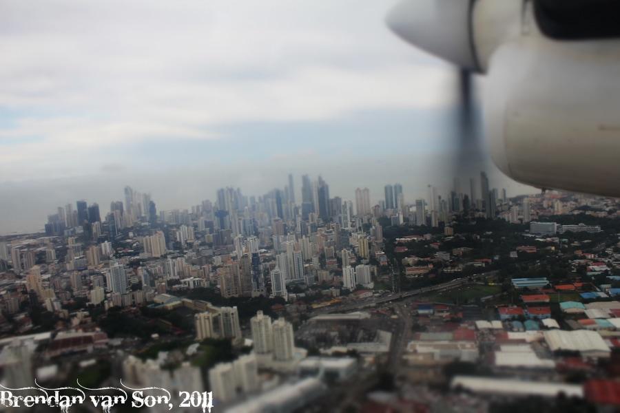 Panama City aerial