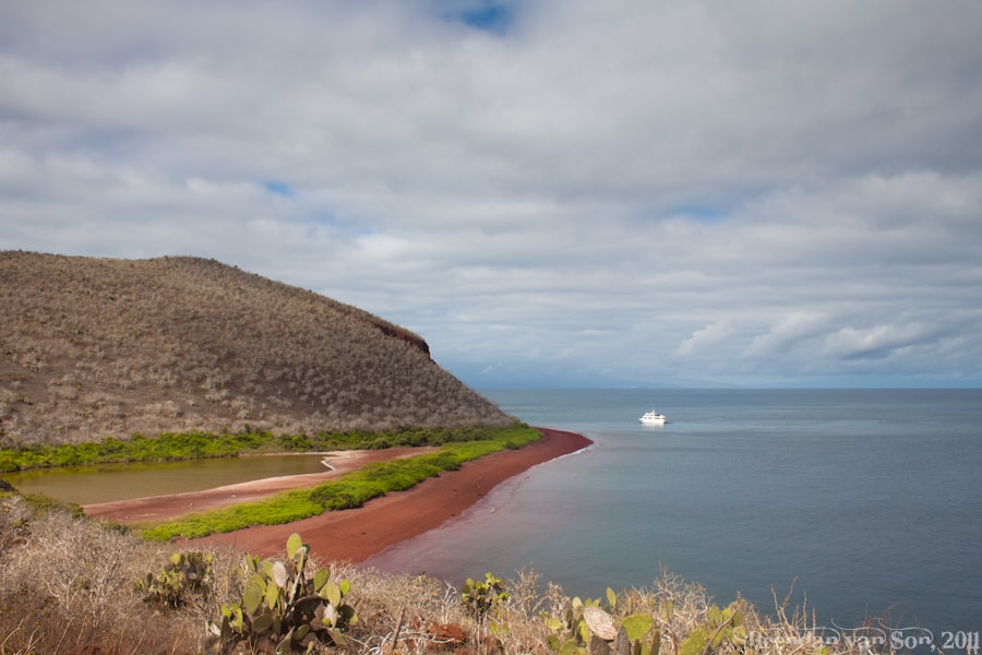 Galapagos Red Beach
