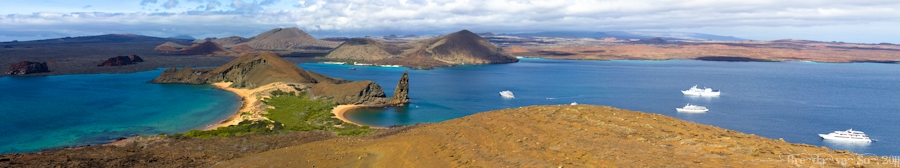 Bartolome Island Panoramic