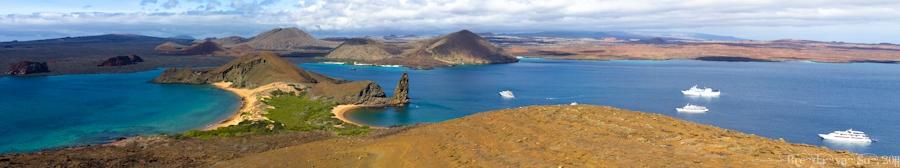Bartolome Island Panoramic