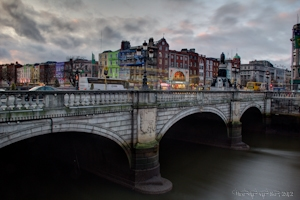 Dublin Bridge in HDR