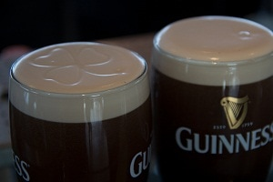 Guinness, clover, Dublin, Beer, 