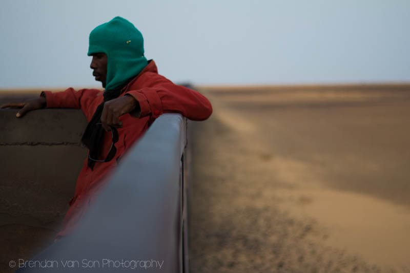 Iron Ore Train Mauritania