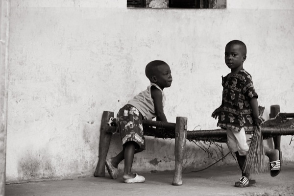 Guinea-Bissau, Kids, Bubaque island