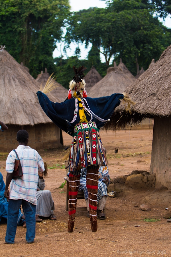 Stilt Dancer, Cote d'Ivoire