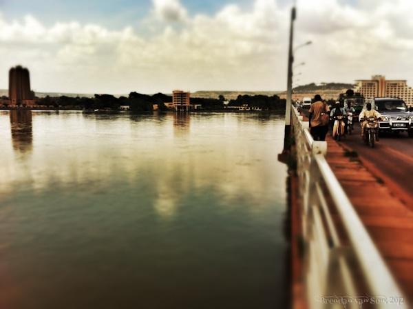 Cote d'Ivoire to Mali, Bamako, Mali, City, skyline