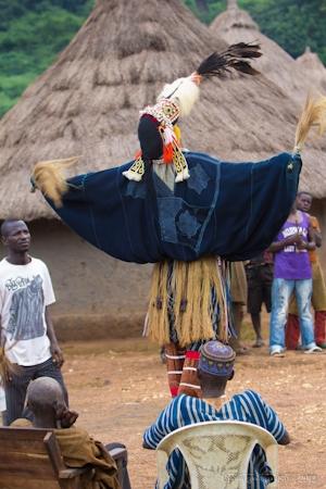 Stilt Dance, Cote d'Ivoire, Ivory Coast, Africa