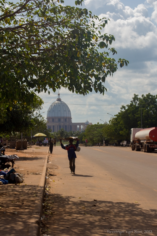 Picture, Church, Yamoussoukro Basilica, Yamoussoukro, Cote d'Ivoire, Ivory Coast