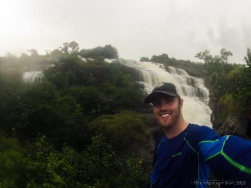 Waterfall in Guinea
