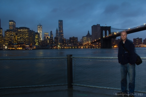 Me in New York City