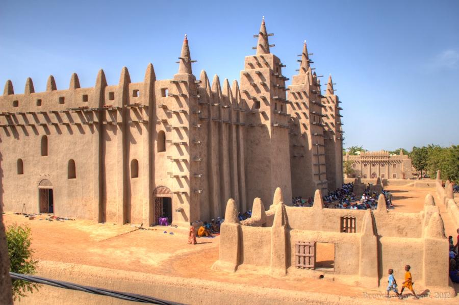 Grand Mosque - Djenne, Mali