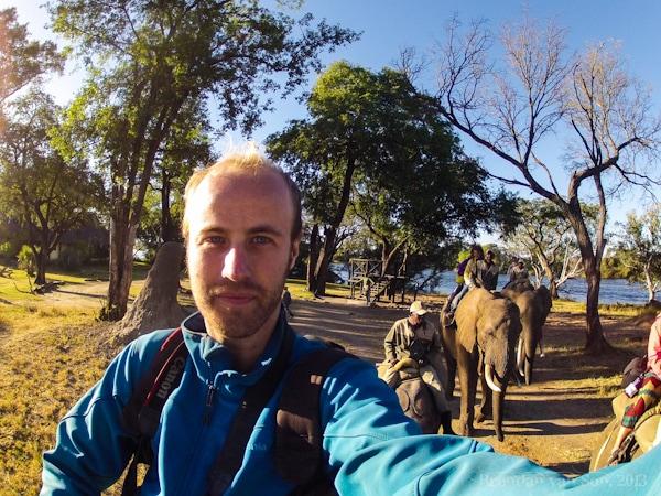Elephant Safari, Zambia