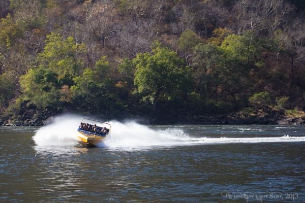 Jet Boating Zambezi River