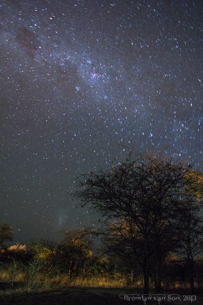 Roy's Rest Camp, milky way