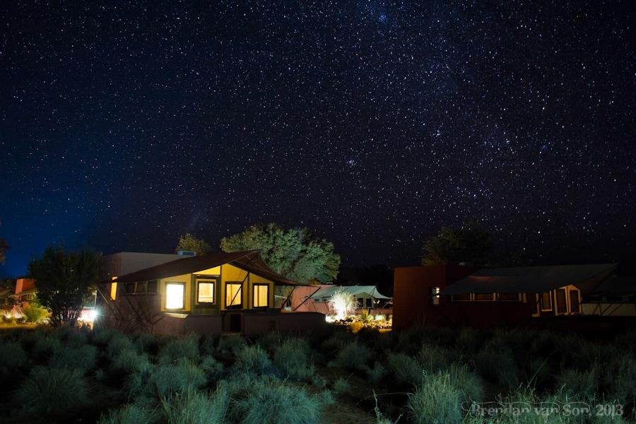 Milky Way, Namibia, Sossusvlei
