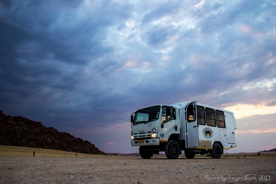 Cameleon Safari, Sossusvlei