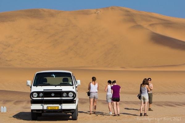 sand boarding Namibia