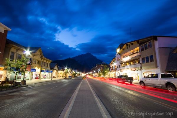 Main street, Banff, Canada