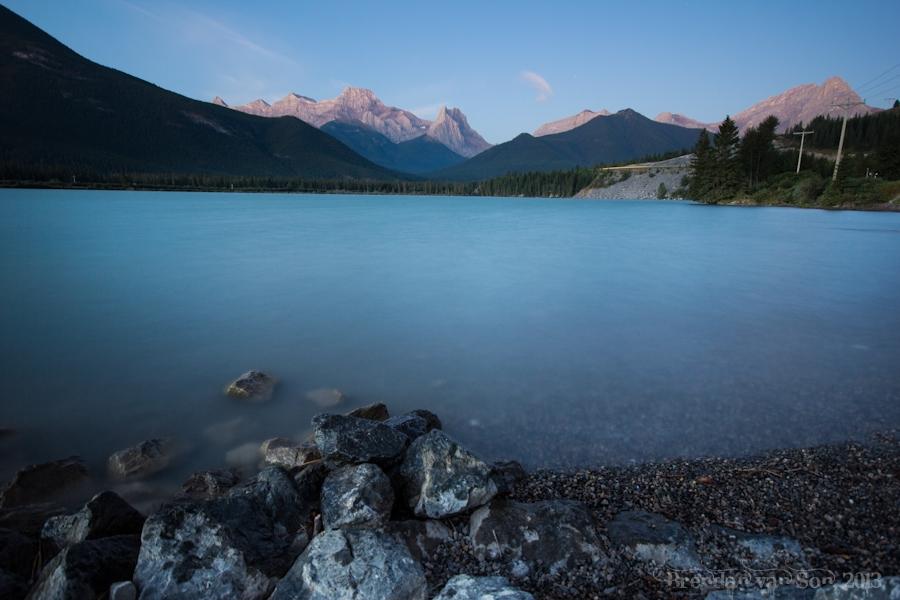 Gap Lake, Canmore, Alberta, Canada