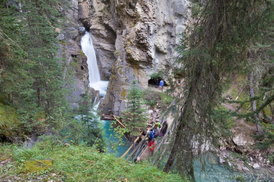 Lower Falls, Johnston Canyon, Banff, Canada