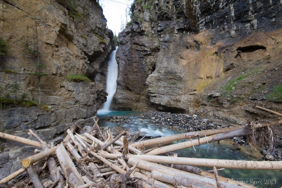 Upper falls, Johnston Canyon, Banff, Canada