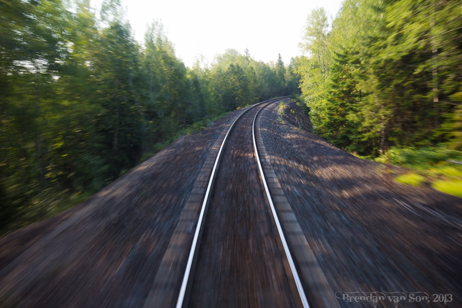 Via Rail, train across Canada