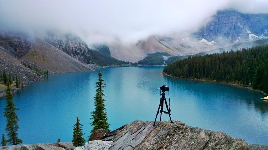 Moraine Lake Camera