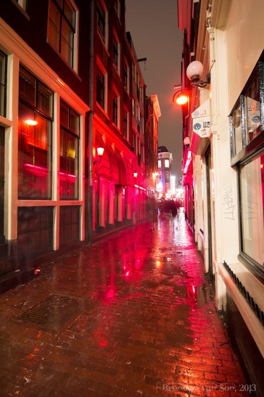 Amsterdam, redlight district
