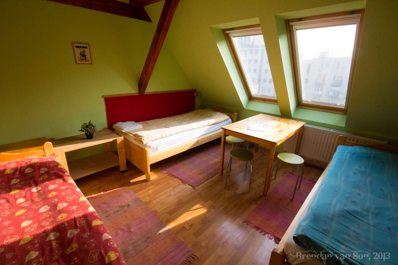 7x24 Central Hostel, Budapest