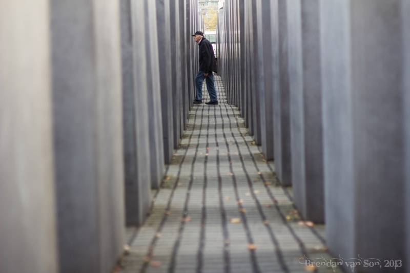 Monument in remembrance of  the murdered jews of Europe
