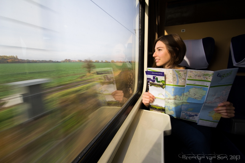 Train to Kutna Hora