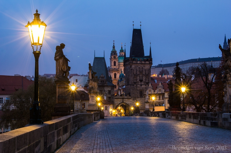 Prague, Karlov Most Bridge