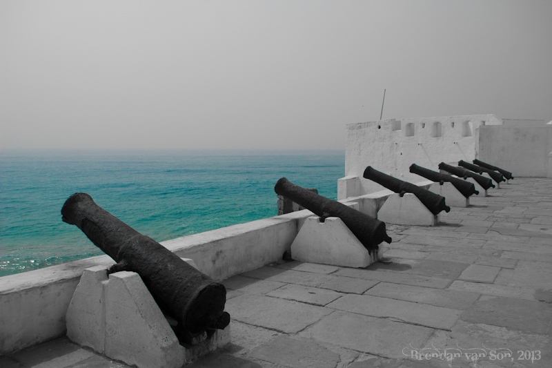 "February 4, 2013 - ""Cape Coast Castle"" This is likely the most famous ""slave castle"" in Africa."