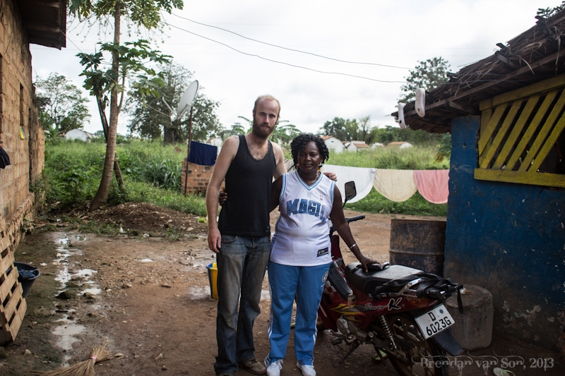 This lady in the DR Congo saved my life.