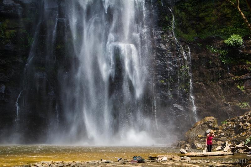 Ghana Pictures, Wli Falls
